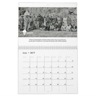 2017 ASOR Archives Calendar