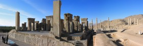 Panoramic view of Persepolis