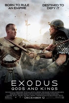 Advertising poster for Exodus: Gods and Kings.