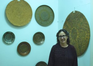 Barbara Porter with Jordanian Ethnography Collection, ACOR