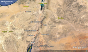 Location of Aila. (Map � 2013 Google Earth)
